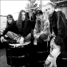 ALICE IN CHAINS - My top 5 favorite songs by them are:   1. Man In the Box.  2. Black Gives Way to Blue.  3. Your Decision.  4. Nutshell.  5. Check My Brain.