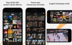 Giflay: View, Organize your GIFs and get previews before using them