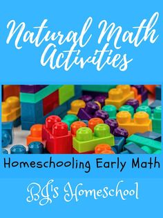 Preschool and kindergarten homeschool math curriculum and tips for hands-on natural math activities for preschool homeschool math, plus resources, too. How to make a frugal math manipulatives kit and teach your kids early math concepts. Early Math, Early Learning, Homeschool Math Curriculum, Homeschooling, Teaching Kindergarten Writing, Math Manipulatives, Basic Math, Kids Learning Activities, Math Concepts