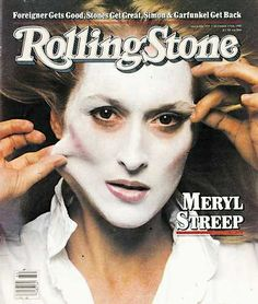1981.Rolling Stone Covers Pictures - RS354: Meryl Streep.
