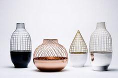 Grid Vase by Jaime Hayon