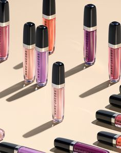 Introducing 11 new shades of Enamored Hi-Shine Lip Lacquer that deliver maximum color and brillance. The mint-scented lip gloss collection gives lips a lush look with lasting color and unbelievable shine. Beauty Trends, Beauty Hacks, Cosmetic Design, Lip Lacquer, Latest Makeup, Perfume, Living At Home, Pink Lips, Makeup Collection