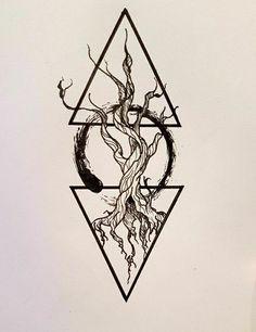 Ideas For Tattoo Forearm Abstract – Tattoo Sketches & Tattoo Drawings Buddha Tattoos, Forearm Tattoos, Body Art Tattoos, Sleeve Tattoos, Cool Tattoos, Tattoos Of Trees, Tatoos, Circle Tattoos, Trendy Tattoos