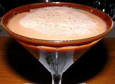 Chocolate Easter Bunny Cocktail