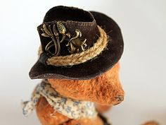 Шьем ковбойскую шляпу для мишки или куклы - Ярмарка Мастеров - ручная работа, handmade
