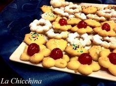 La Chicchina: Biscotti al burro con lo sparabiscotti
