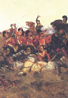 The Battle of Quatre Bras. Waterloo 1815, Battle Of Waterloo, British Army, British Isles, Napoleon Quotes, Battle Of The Nile, Hundred Days, Crimean War, Imperial Army