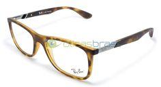 Desde o icônico Aviador, a marca Ray-Ban é referência no mercado de óculos, seus modelos ditam tendência e são sempre a escolha de quem não quer errar no visual. Usar óculos de grau não é motivo para abrir mão de todo o estilo da Ray-Ban, compre já sua armação Ray-Ban RB 7105L!  http://www.oticasbrasil.com.br/ray-ban-rb-7105l-5200-oculos-de-grau