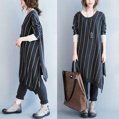 Women's autumn and winter long sweater - Tkdress  - 1