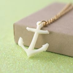 Handmade Gifts | Independent Design | Vintage Goods Nautical Anchor Necklace - New Arrivals