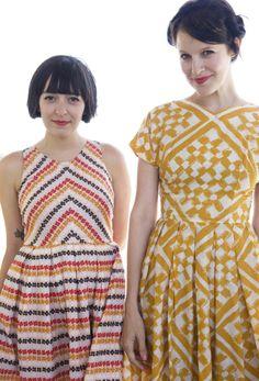 lovely printed dresses
