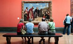 Source: National Gallery visitors contemplate The Vendramin Family by Titian. Photograph: Alex Segre/Alamy from  Claire Bresson (via Omer Pesquer)