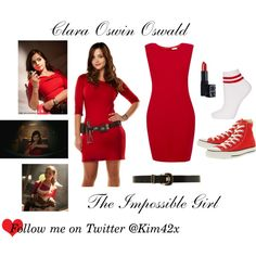 Clara Oswin Oswald Doctor Who Cosplay Costume