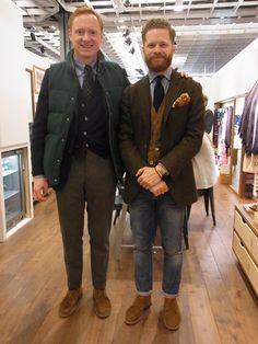 Preppy Men, Preppy Style, My Style, Older Mens Fashion, Suit Fashion, Tweed Jacket Men, Suit Jacket, Ivy League Style, London Outfit