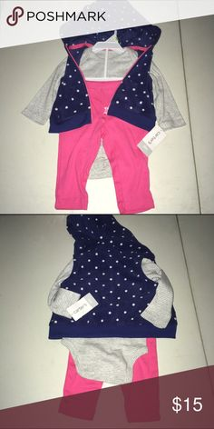 Carters 3 piece winter outfit NWT size 3 months Carters 3 piece winter outfit NWT size 3 months Carter's Matching Sets