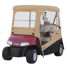 The gotham golfcart gotham golf carts and monster trucks fairway e z go sand golf cart enclosure overstock shopping big discounts on fairway cart accessories fandeluxe Images