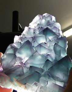 """Fluorite promotes spiritual and psychic wholeness and development, protection, and brings peace. It helps one meditate and learn to go past the """"chatter"""" that our minds tend to generate when first learning to meditate. Deeper meditation past the """"chatter"""""""