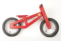 Bennett Balance Bike - made if recycled milk jugs- by Heritage Bicycles