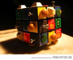 Rubik's Cube for blind people…