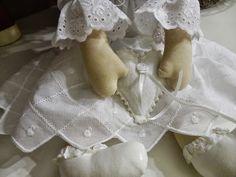 anjos e bonecas de pano para casamentos - anjos e bonecas porta alianças - Buquê de Noiva Santo Antônio by Rapariga Arteira