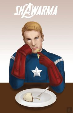 Captain America - Shawarma