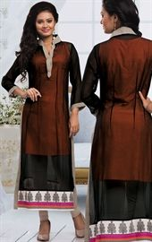 Picture of Unique Black Ready Made Kurti