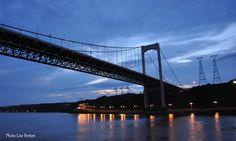 Le pont Pierre Laporte et le boulevard Champlain