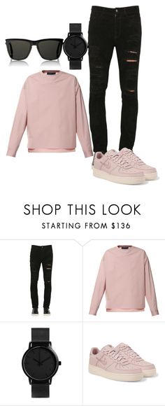 """Untitled #6"" by dedic-elvira ❤ liked on Polyvore featuring Giorgio Brato, Diesel, NIKE, Yves Saint Laurent, men's fashion and menswear"