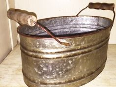 Many uses for this tub. Storing dog toys or maybe kindling by the fireplace. I love having these around for entertaining as well. We use them when having a crowd over for utensils, napkins, etc. Measu