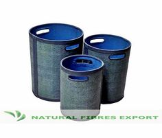 Round Storage Boxes @ Natural Fibres Export