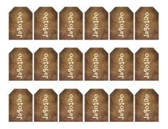 grungy tag set primitive tags craft by WhisperWillowDesignz $3.50 #primitive #supplies #crafts #fall #décor #tags #primtags #printables