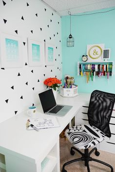 Craft Room Makeover. Basement Craft RoomsHome Office ...