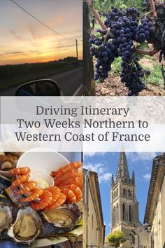 A thoroughly researched and personally tested two weeks driving itinerary covering the best food, the rich history and natural attractions of the region Travel Info, Packing Tips For Travel, France Photography, Travel Photography, Online Travel Agent, Western Coast, Places In Europe, Costa, France Travel