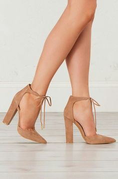 973f78cdd Head over Heels - Thick Heel Lace Up Sandals in Black and Taupe