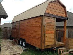 Man Builds Portable Tavern Tiny House on a Trailer on MARCH 10, 2015