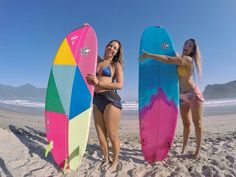 cd830e2aeb Reaction Surfboards passeando na praia!  surf  maresias  surfgirls  Surfista