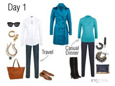 PACK LIKE A PRO: Day 3 | Master Stylist Claudia shares tips for packing for a stylish 4-day weekend, all in a compact carry-on. www.etceteracollectionblog.com/