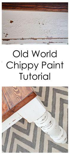 old-world-chippy-paint-tuto.jpg (500×1094)