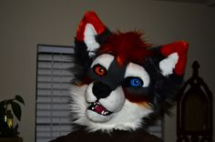 Fursuit Head, Wolf Album, Heads And Tails, Special Effects Makeup, Red Panda, Furry Art, Pretty Cool, Fandom