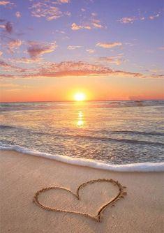5D Diamond Painting Sunset/Love Beach DIY Round Full Diamond Embroidery Kit Landscape Home Decoration Crafts 30*40cm|Diamond Painting Cross Stitch| - 17 / 45*60cm