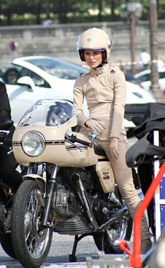 Video: Keira Knightley straddles Ducati for Coco Chanel