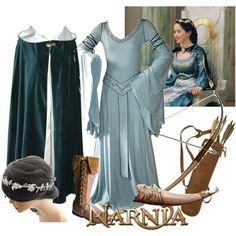 """susan pevensie"" by doctor-who-style on Polyvore"