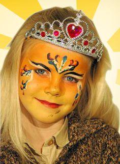 Hoe schmink je een prinses: filmpje