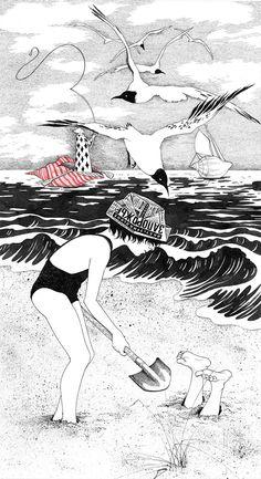 My Childhood – Les jolies illustrations poétiques de Sveta Dorosheva (image)