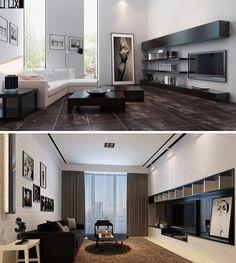 Modern Interior Design_3D_Visual Perspective