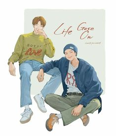 Namjin, Anime Drawings Sketches, Bts Drawings, K Pop, Bts Texts, Bts Chibi, Bts Fans, Fanarts Anime, Too Cool For School