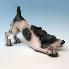 Christine CUMMINGS - Bounding Dog