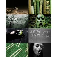Shrewd Slytherin from fen ❤ liked on Polyvore featuring harry potter