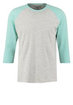 YOUR TURN Langarmshirt mottled light grey/mint Bekleidung bei Zalando.de | Material Oberstoff: 95% Baumwolle, 5% Viskose | Bekleidung jetzt versandkostenfrei bei Zalando.de bestellen!