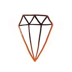 Diamond Pin by Kate Bingaman-Burt  Valley Cruise Press www.valleycruisepress.com